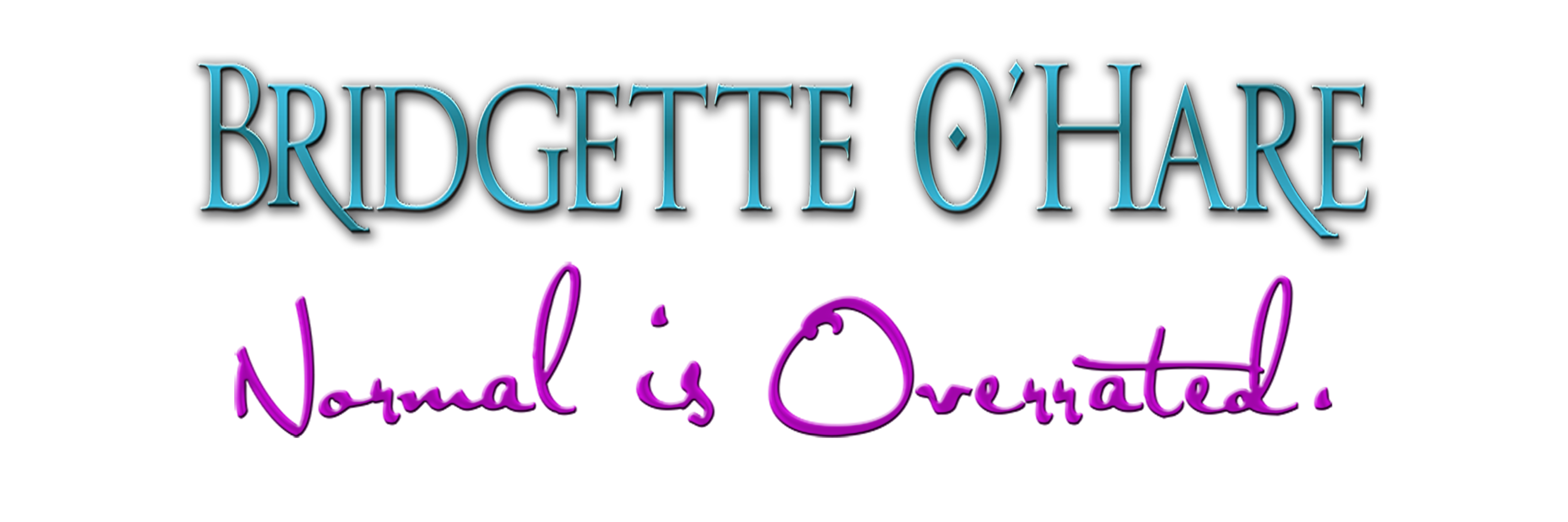 The Official Site of Bridgette O'Hare